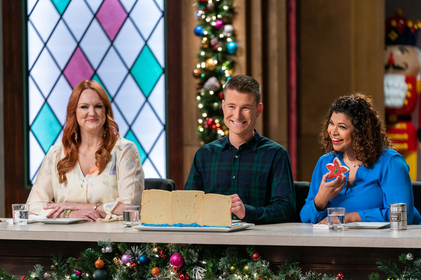 Christmas Cookie Challenge Judges.Featured On Aarti Sequeira Food Personality Journalist