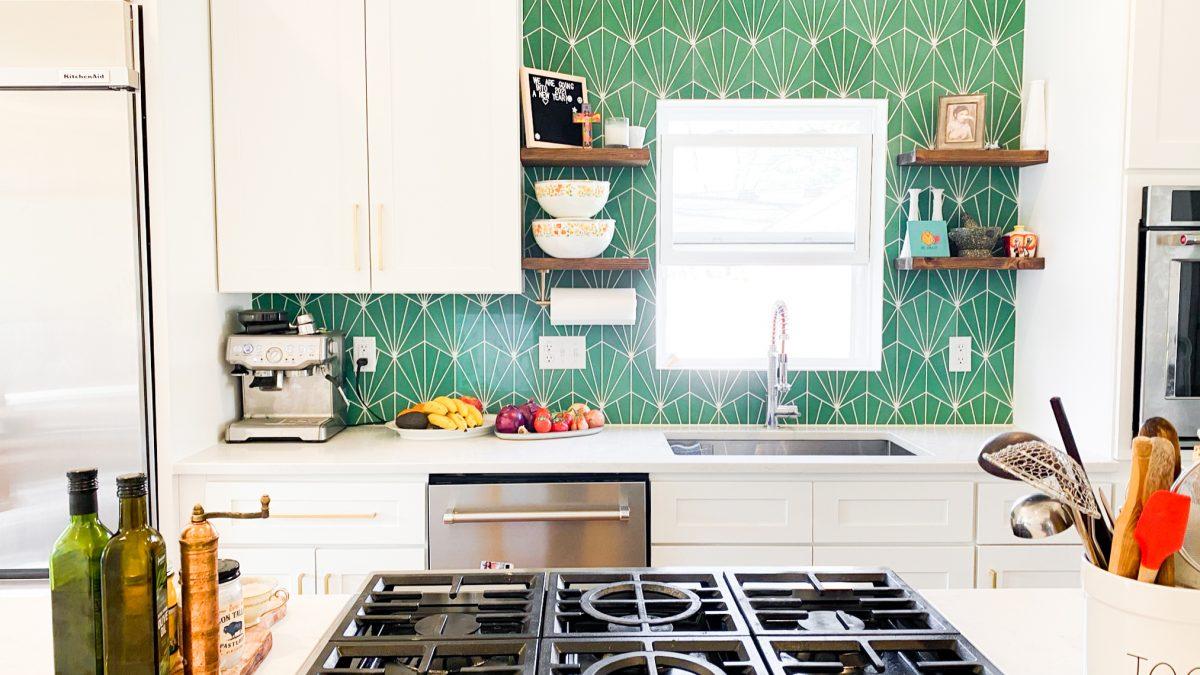 Zia Tile Emerald Green Victory Tile